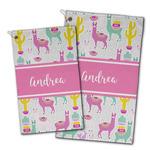 Llamas Golf Towel - Full Print w/ Name or Text