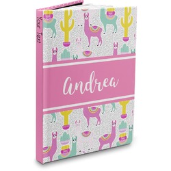 Llamas Hardbound Journal (Personalized)
