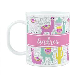 Llamas Plastic Kids Mug (Personalized)
