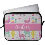 "Llamas Laptop Sleeve / Case - 15"" (Personalized)"
