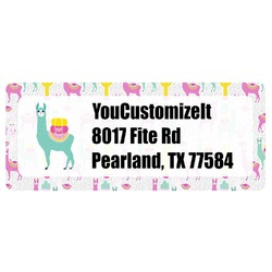 Llamas Return Address Labels (Personalized)