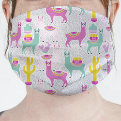 Llamas Face Mask Cover (Personalized)