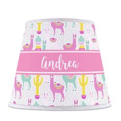 Llamas Empire Lamp Shade (Personalized)