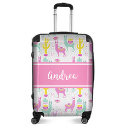 "Llamas Suitcase - 24""Medium - Checked (Personalized)"