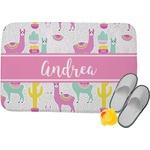 Llamas Memory Foam Bath Mat (Personalized)