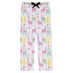 Llamas Mens Pajama Pants (Personalized)