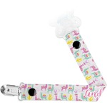 Llamas Pacifier Clips (Personalized)