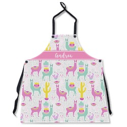 Llamas Apron Without Pockets w/ Name or Text