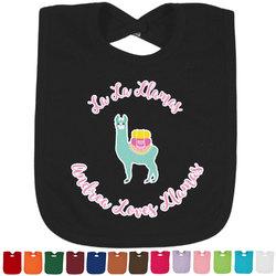 Llamas Baby Bib - 14 Bib Colors (Personalized)
