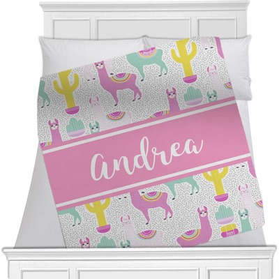 Llamas Minky Blanket (Personalized)
