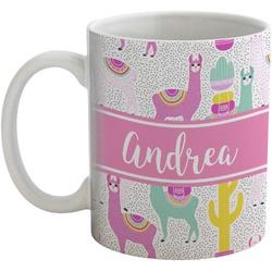 Llamas Coffee Mug (Personalized)