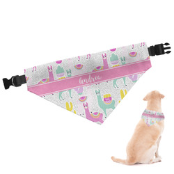 Llamas Dog Bandana - Small (Personalized)