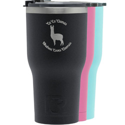 Llamas RTIC Tumbler - Black (Personalized)