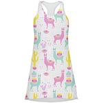 Llamas Racerback Dress (Personalized)