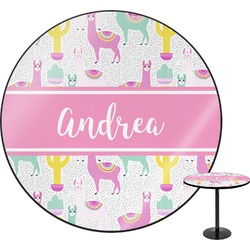 Llamas Round Table (Personalized)