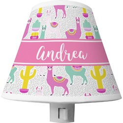 Llamas Shade Night Light (Personalized)