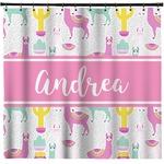 Llamas Shower Curtain (Personalized)