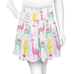 Llamas Skater Skirt (Personalized)