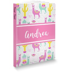 Llamas Softbound Notebook (Personalized)