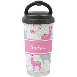 Llamas Stainless Steel Coffee Tumbler (Personalized)