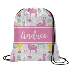 Llamas Drawstring Backpack (Personalized)