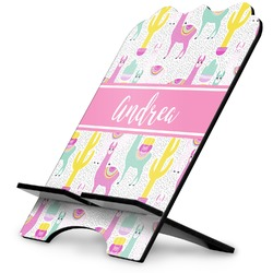 Llamas Stylized Tablet Stand (Personalized)