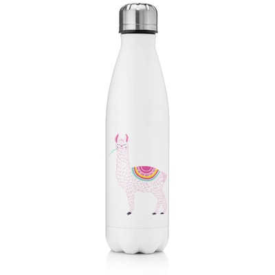 Llamas Tapered Water Bottle - 17 oz. - Stainless Steel (Personalized)