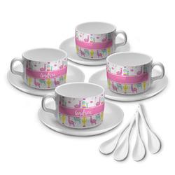 Llamas Tea Cup - Set of 4 (Personalized)