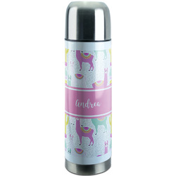 Llamas Stainless Steel Thermos (Personalized)