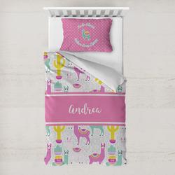 Llamas Toddler Bedding w/ Name or Text