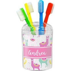 Llamas Toothbrush Holder (Personalized)