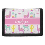 Llamas Trifold Wallet (Personalized)