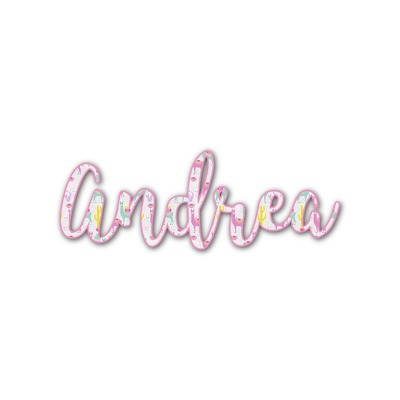 Llamas Name/Text Decal - Custom Sizes (Personalized)
