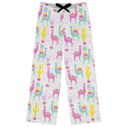 Llamas Womens Pajama Pants (Personalized)