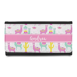 Llamas Leatherette Ladies Wallet (Personalized)