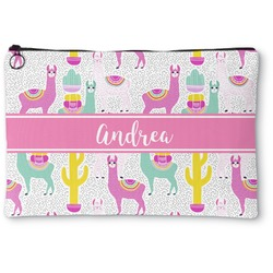 Llamas Zipper Pouch (Personalized)
