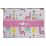 Llamas Zipper Pouch (Personalized)