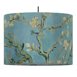 Almond Blossoms (Van Gogh) Drum Pendant Lamp