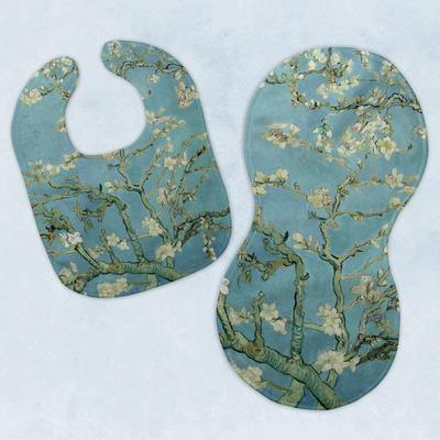 Almond Blossoms (Van Gogh) Baby Bib & Burp Set