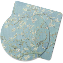 Almond Blossoms (Van Gogh) Rubber Backed Coaster