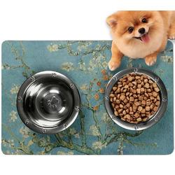 Almond Blossoms (Van Gogh) Dog Food Mat - Small