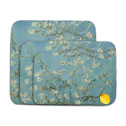 Almond Blossoms (Van Gogh) Memory Foam Bath Mat