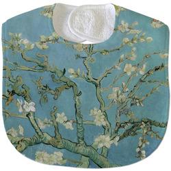 Almond Blossoms (Van Gogh) Velour Baby Bib
