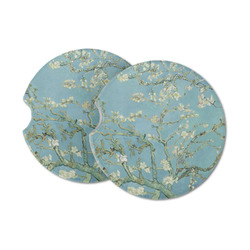 Almond Blossoms (Van Gogh) Sandstone Car Coasters