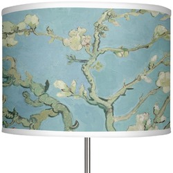 "Apple Blossoms (Van Gogh) 13"" Drum Lamp Shade"