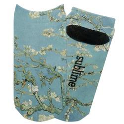 Apple Blossoms (Van Gogh) Adult Ankle Socks