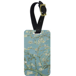 Apple Blossoms (Van Gogh) Aluminum Luggage Tag
