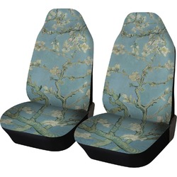 Apple Blossoms (Van Gogh) Car Seat Covers (Set of Two)