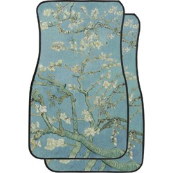 Apple Blossoms (Van Gogh) Car Floor Mats (Front Seat)