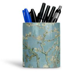 Almond Blossoms (Van Gogh) Ceramic Pen Holder